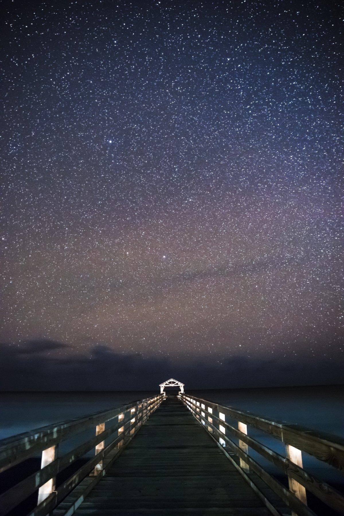 Starry Sky overPier