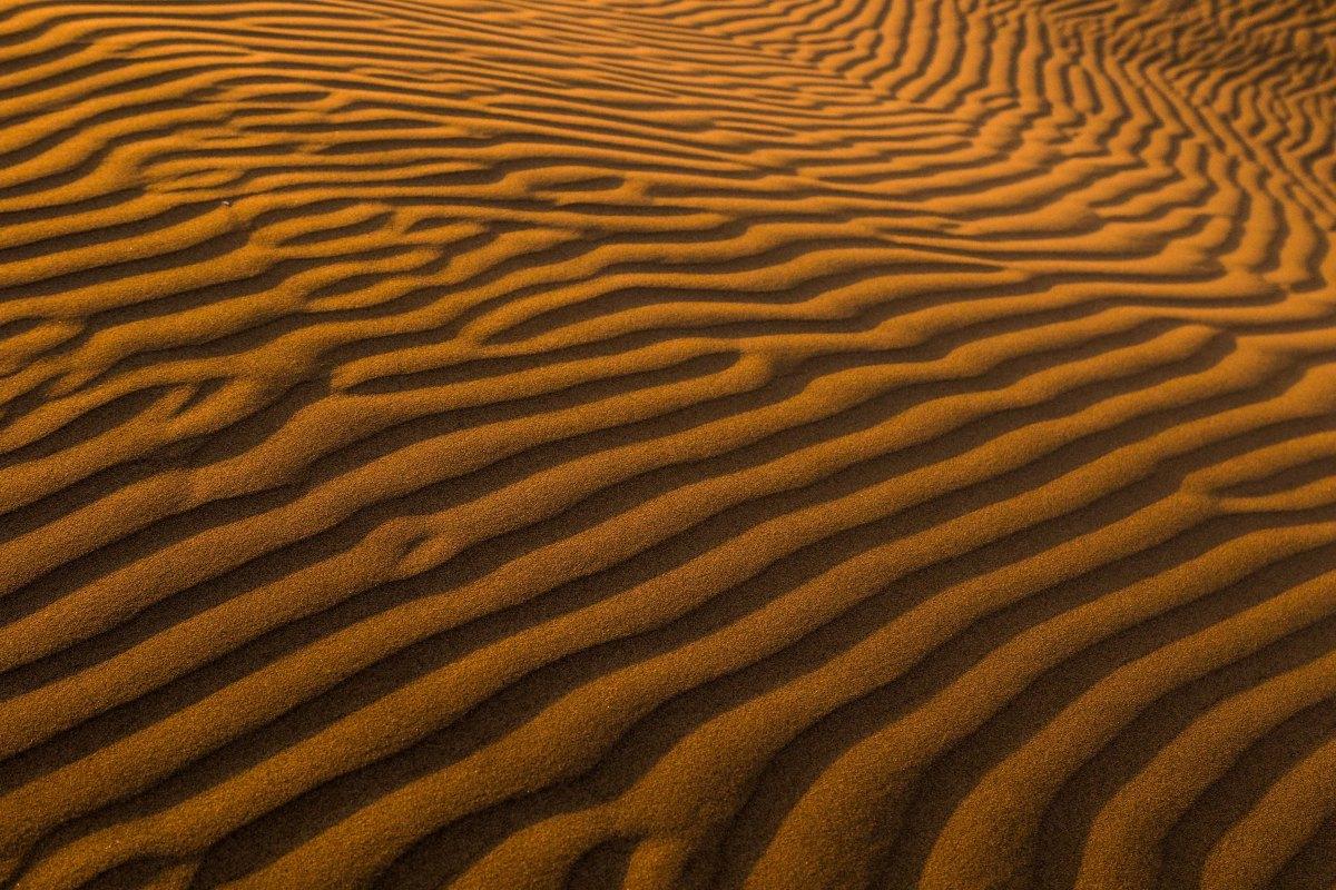 Patterned Desert